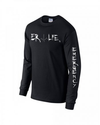 ER Life Black Long Sleeve Side View