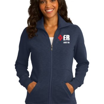 Emergency Department Women's Navy Jacket Front