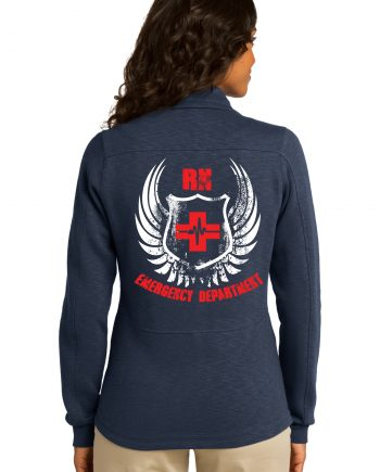 Women's Emergency Department Navy Jacket Back
