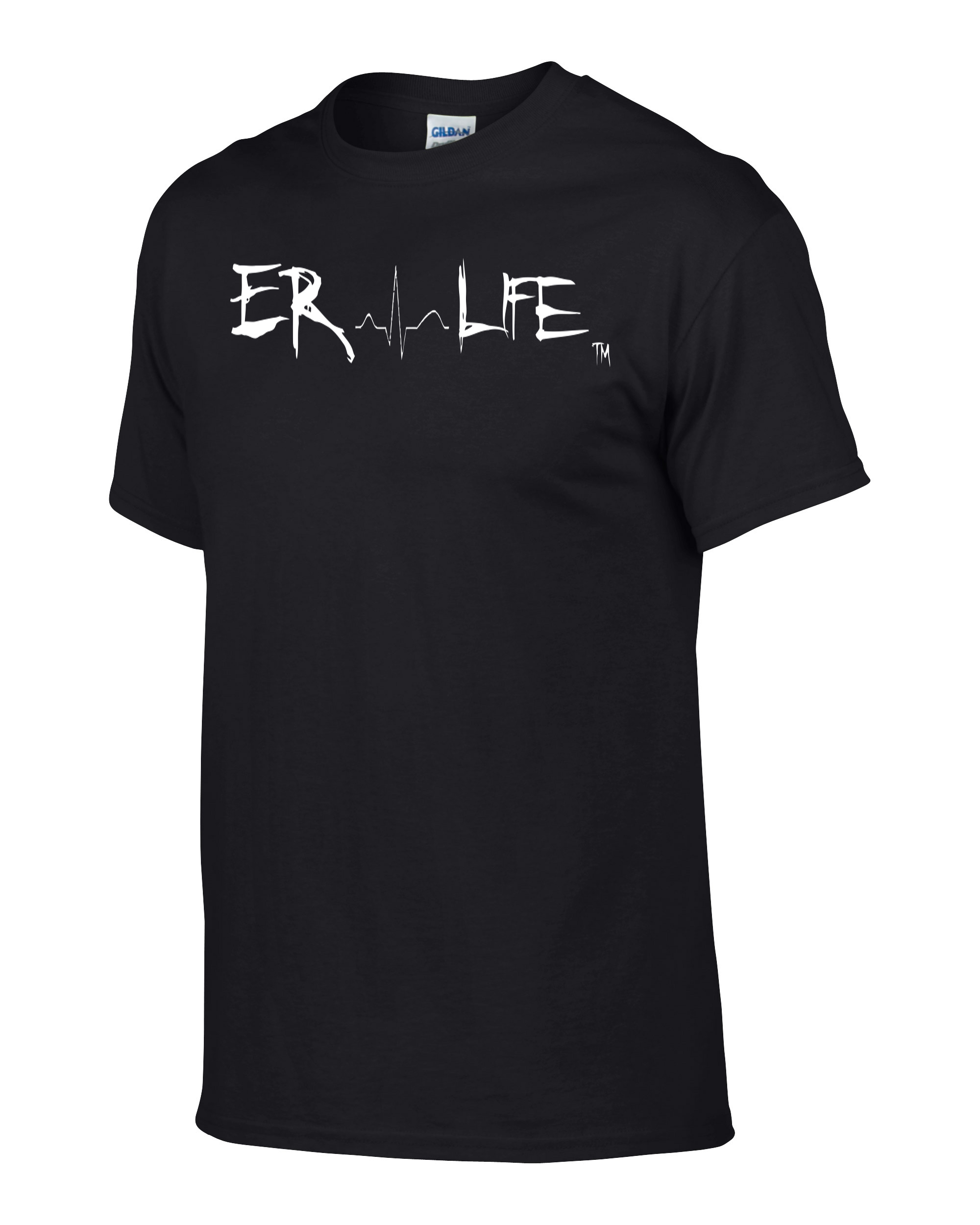 ER Life Black Shirt Side