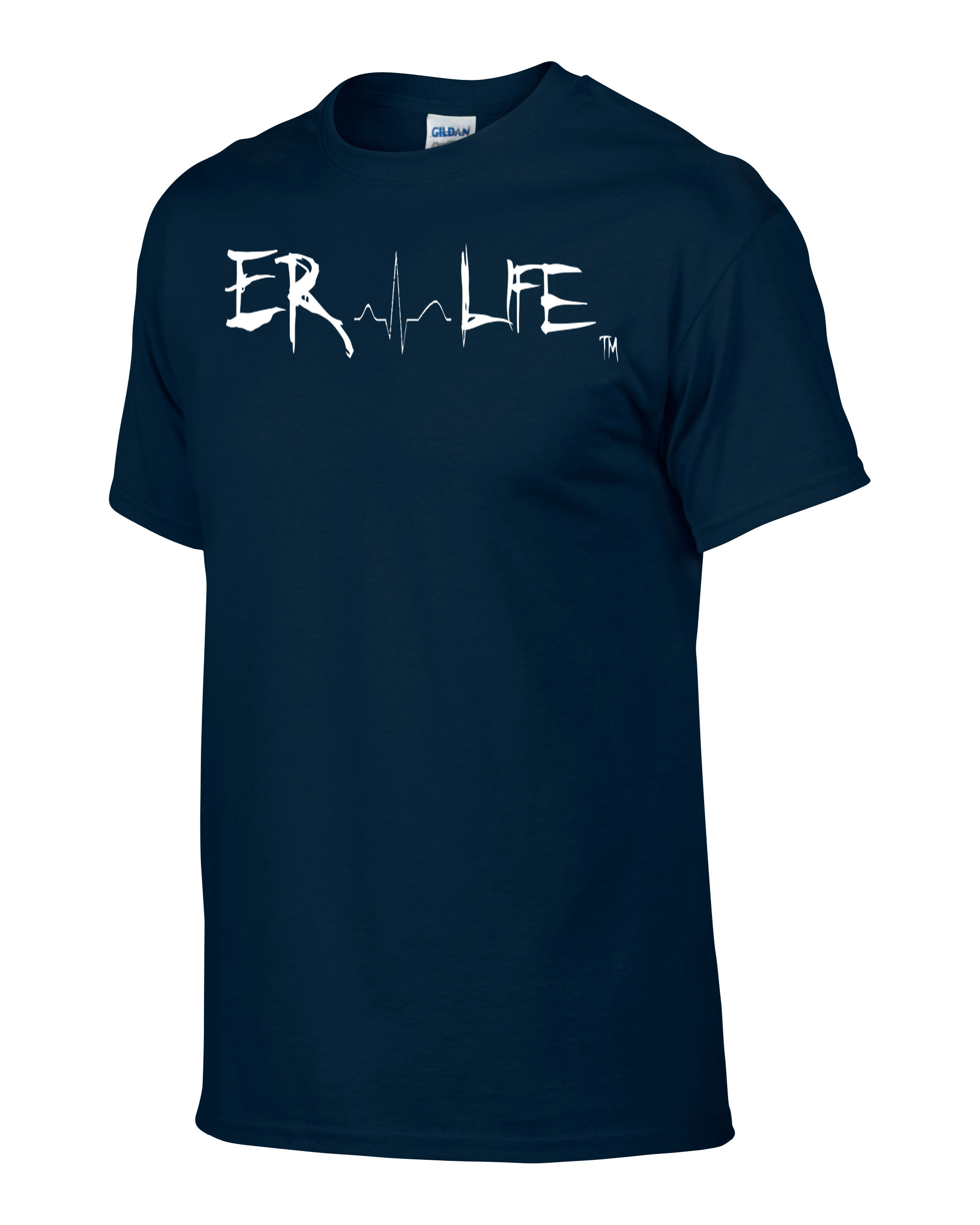 ER Life Navy Shirt Side
