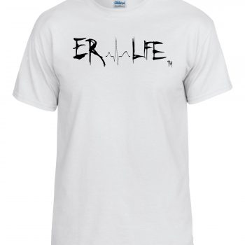 ER Life White Shirt Side