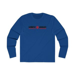 Emergency Department Red Line Crew Neck Royal Blue