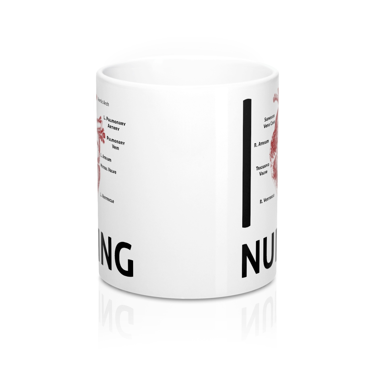 I Heart Nursing 11oz Mug